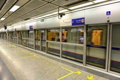 Stazione di MRT, Bangkok Fotografie Stock