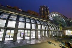Stazione di MRT di Taipei (Daan Park Station) Immagini Stock
