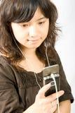 Stazione di musica mobile Immagini Stock