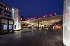 Stazione di Nørreport a Copenhaghen Fotografia Stock Libera da Diritti