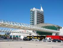 Stazione di Oriente, Lisbona Immagine Stock Libera da Diritti