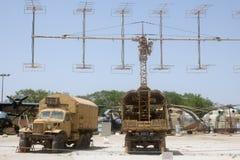 Stazione di radiolocalizzazione del gallo 53 di operazione Fotografia Stock Libera da Diritti