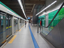 Stazione di Sacomã Immagine Stock