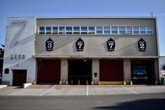 Stazione 7 di San Francisco Fire Department e centro di formazione, 1 immagini stock libere da diritti