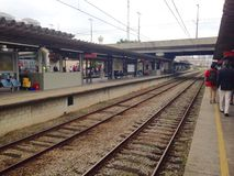 Stazione di Santo André Fotografie Stock Libere da Diritti