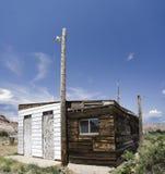 Stazione di servizio abbandonata Fotografie Stock