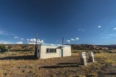 Stazione di servizio abbandonata vicino alla città di Cisco Utah Immagine Stock Libera da Diritti