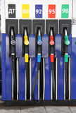 Stazione di servizio del combustibile fotografia stock