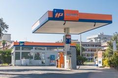 Stazione di servizio del IP in Italia fotografia stock