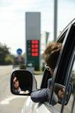 Stazione di servizio della benzina Fotografia Stock Libera da Diritti