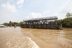 Stazione di servizio di galleggiamento Immagine Stock Libera da Diritti