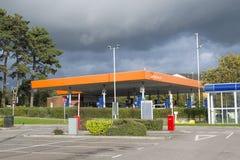 Stazione di servizio di Sainsburys Fotografia Stock