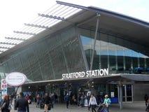 Stazione di Stratford Railway Fotografie Stock Libere da Diritti