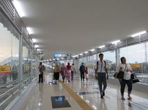 Stazione di Tanah Abang, Jakarta Immagine Stock