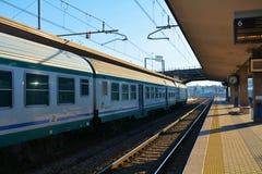 Stazione di Treviso, Italia Fotografia Stock