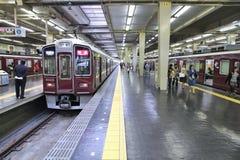 Stazione di Umeda, Osaka Immagini Stock Libere da Diritti