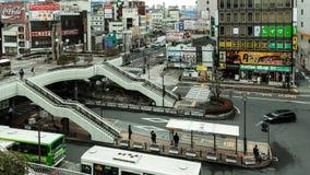 Stazione di Utsunomiya in Tochigi, Giappone Fotografia Stock