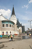 Stazione di Yaroslavl di area Immagine Stock Libera da Diritti