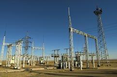 Stazione elettrica Fotografia Stock Libera da Diritti