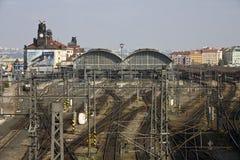 Stazione ferroviaria Immagine Stock Libera da Diritti
