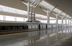 Stazione ferroviaria Fotografia Stock