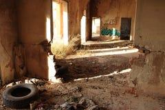 Stazione ferroviaria abbandonata a Albacete immagine stock