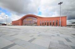 Stazione ferroviaria ad ovest di Harbin Fotografia Stock Libera da Diritti