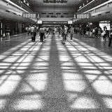 Stazione ferroviaria ad ovest di Pechino Fotografia Stock Libera da Diritti