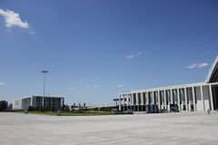 Stazione ferroviaria ad ovest di Tientsin Fotografie Stock