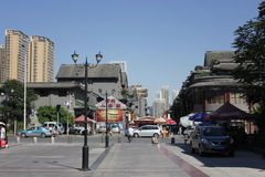 Stazione ferroviaria ad ovest di Tientsin Fotografia Stock