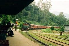 Stazione ferroviaria all'estremità dei mondi Fotografia Stock