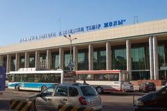 Stazione ferroviaria Almaty-1 Fotografie Stock Libere da Diritti