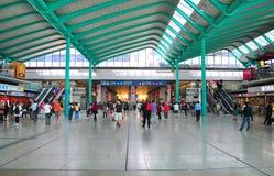 Stazione ferroviaria appesa del hom, Hong Kong Fotografia Stock Libera da Diritti