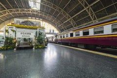 Stazione ferroviaria a Bangkok Immagini Stock