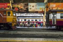 Stazione ferroviaria a Bangkok Immagine Stock Libera da Diritti