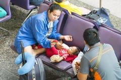 Stazione ferroviaria a Bangkok Immagine Stock