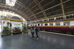 Stazione ferroviaria a Bangkok Immagini Stock Libere da Diritti