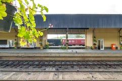 Stazione ferroviaria britannica fotografia stock