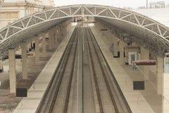 Stazione ferroviaria britannica immagini stock libere da diritti