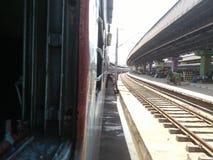 Stazione ferroviaria britannica Immagini Stock
