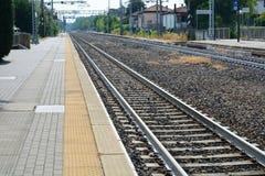 Stazione ferroviaria britannica fotografia stock libera da diritti