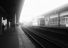 Stazione ferroviaria britannica Immagine Stock