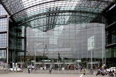 Stazione ferroviaria centrale Berlino Immagine Stock Libera da Diritti