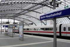 Stazione ferroviaria centrale Berlino Immagini Stock Libere da Diritti