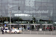 Stazione ferroviaria centrale Berlino Fotografia Stock