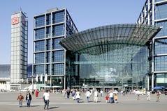 Stazione ferroviaria centrale Berlino Immagine Stock