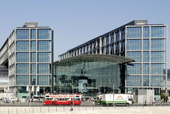 Stazione ferroviaria centrale Berlino Fotografie Stock