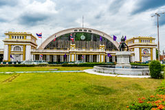 Stazione ferroviaria centrale della Tailandia Immagine Stock