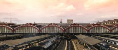 Stazione ferroviaria centrale di Copenhaghen, Fotografia Stock