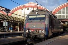Stazione ferroviaria centrale di Copenhaghen Fotografie Stock Libere da Diritti